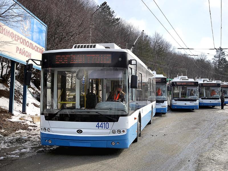 ГЛОНАСС появится во всех троллейбусах, курсирующих по Крыму
