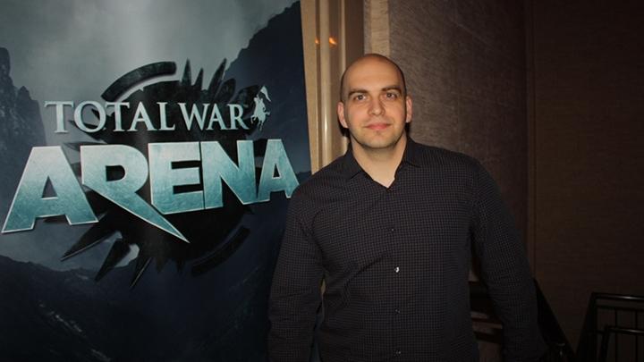 Габор Бересси, ведущий разработчик Total War: Arena (фото www.venturebeat )