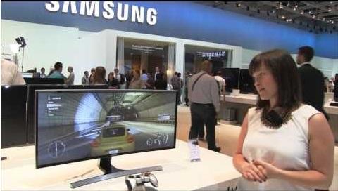 """Samsung анонсировала 34"""" изогнутый монитор"""""""