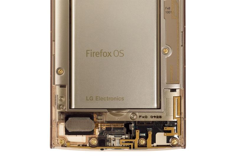 LG Fx0: необычный смартфон в прозрачном корпусе на базе Firefox OS