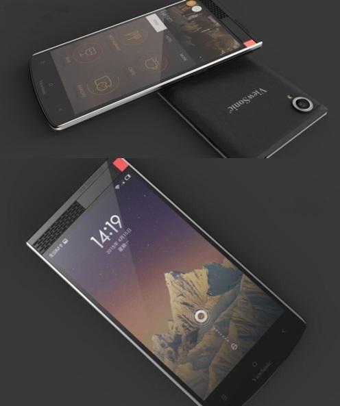 "Тизер первого смартфона со сканером ""радужки"""
