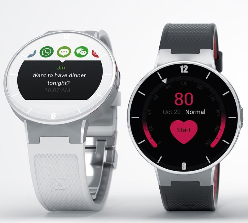 Бюджетные смарт-часы Alcatel OneTouch Watch