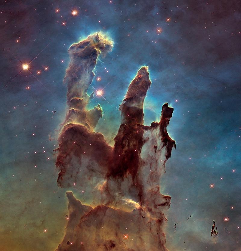Фото дня: «Столпы Творения» глазами телескопа Hubble