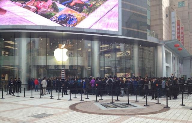 Apple откроет в Китае 5 новых магазинов до середины февраля