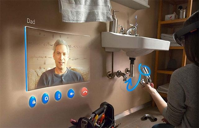 Очки Microsoft HoloLens используют чип Intel Atom Cherry Trail