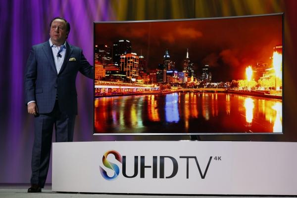 Samsung начала продавать телевизоры на квантовых точках