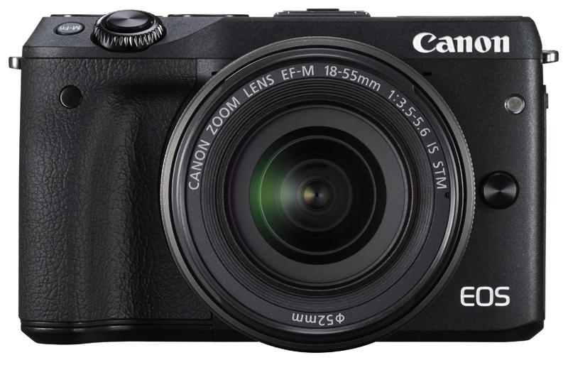 Canon EOS M3 беззеркальная камера с гибридным автофокусом