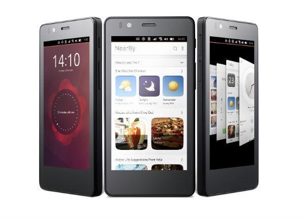 Первый смартфон на базе Ubuntu выйдет в ближайшие дни