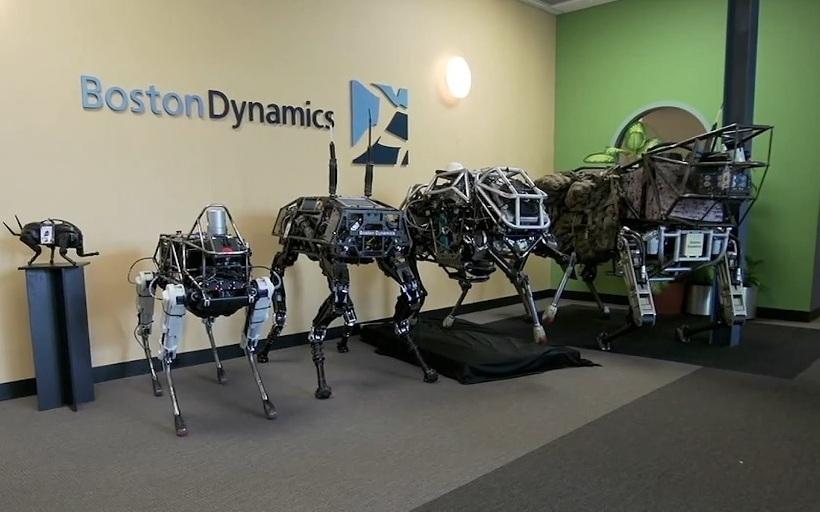 """Видео дня: бесшумный четырёхногий робот Spot отBoston Dynamics"""""""