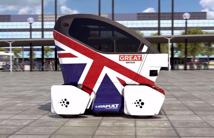 Lutz Pathfinder: беспилотные мини-автомобили выезжают на британские улицы