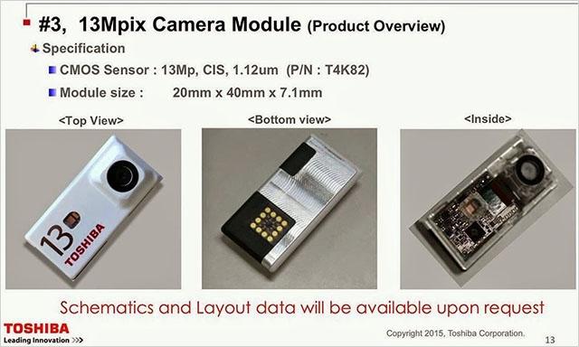 Toshiba создала прототипы модулей камеры для смартфонов Google Ara