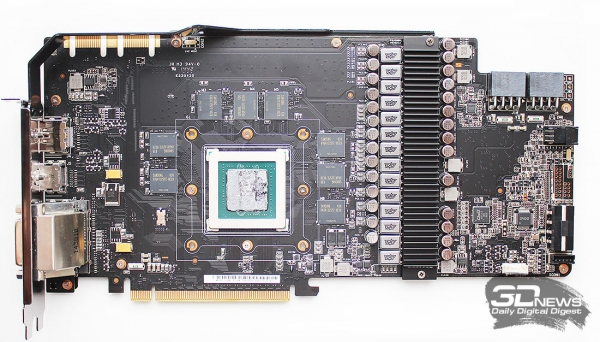 Обзор и тестирование видеокарты ASUS ROG Matrix GTX980 Platinum: в шаге от идеала