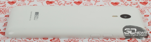 Meizu M1 Note – вид сбоку