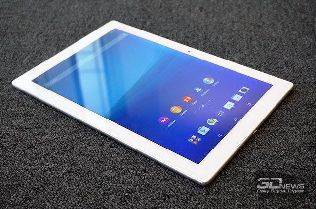 "MWC 2015: самый тонкий и лёгкий 10"" планшет Sony Xperia Z4 Tablet"