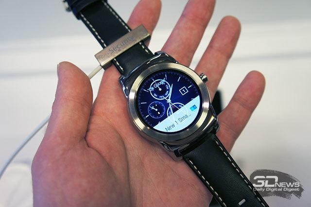 MWC 2015: краткое знакомство с часами LG Watch Urbane и ...
