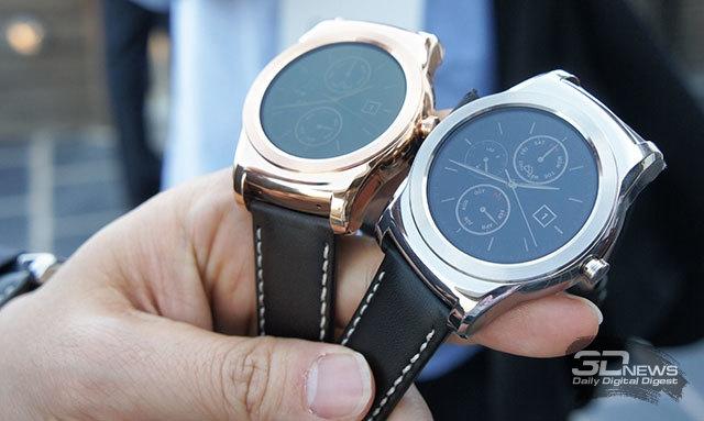MWC 2015: краткое знакомство с часами LG Watch Urbane и Watch Urbane LTE