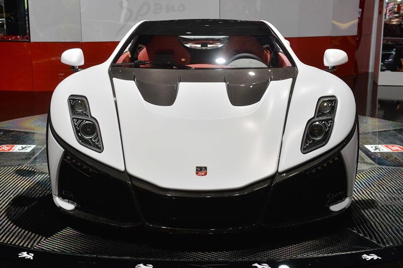 Испанский суперкар GTA Spano приедет в Женеву