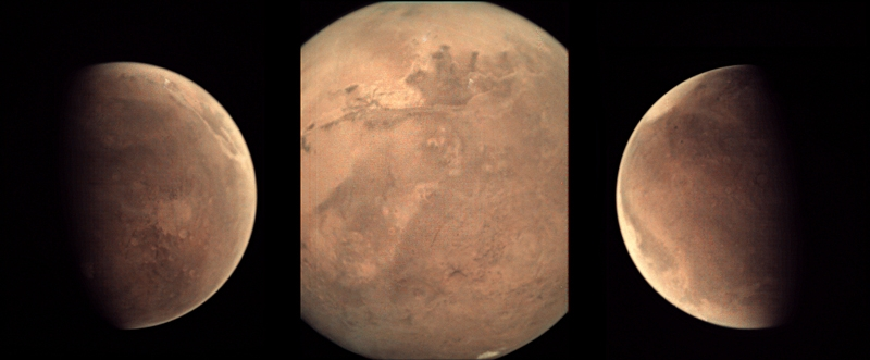 """Изображение Марса с камеры VMC на """"Марс-экспрессе"""""""