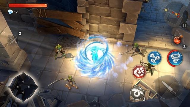 "Ролевой экшен Dungeon Hunter 5 вышел на Android, iOS и WP"""