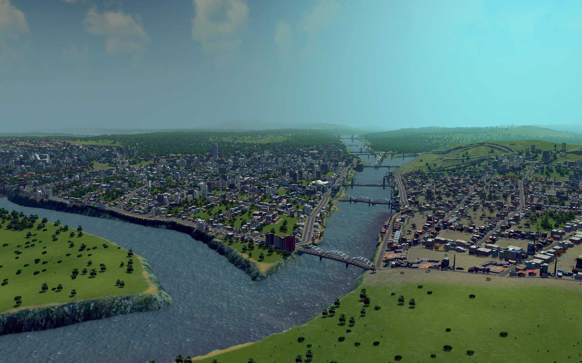 Cities: Skylines — работа над чужими ошибками. Рецензия