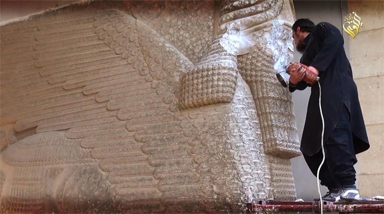 """Проект «Мосул» — восстановление уничтоженных древностей при помощи 3D-печати"""""""