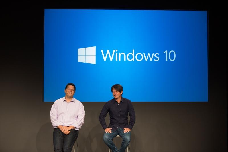 Терри Майерсон и Джо Бельфиор отвечают на вопросы журналистов по Windows 10