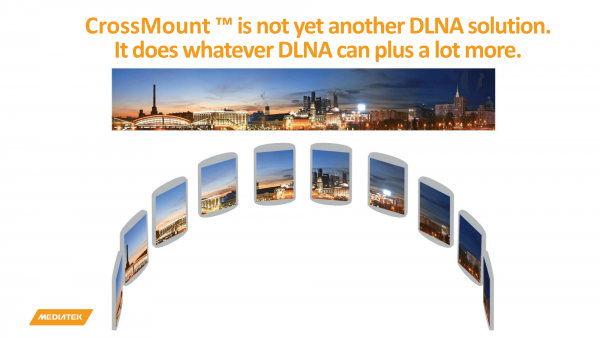 DLNA + AirPlay + AirDrop + MiraCast + ...