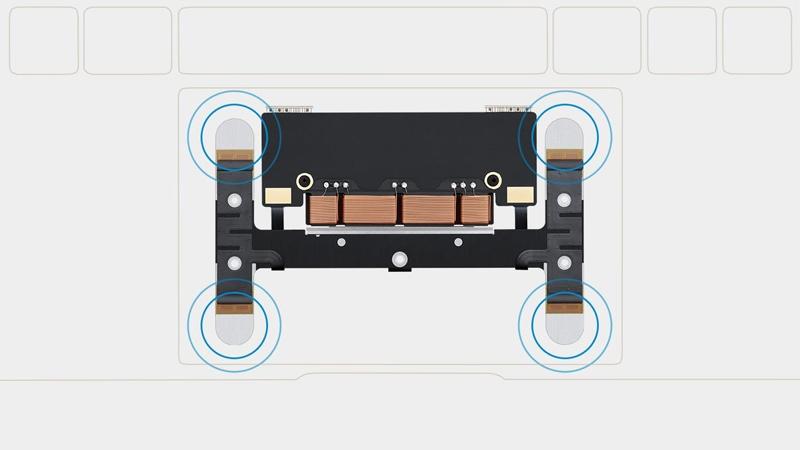Apple патентует клавиатуру без физических кнопок