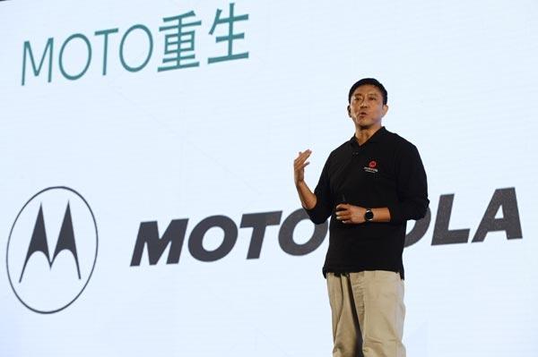 Глава Motorola Mobility Лю Цзюнь (Liu Jun)