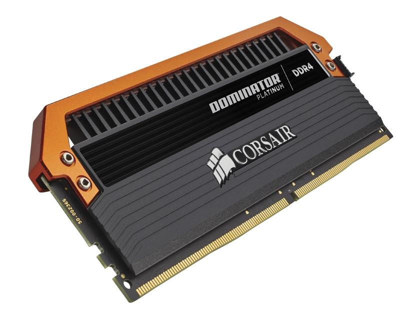 Модули Corsair Dominator Platinum DDR4 работают на частоте 3400 МГц