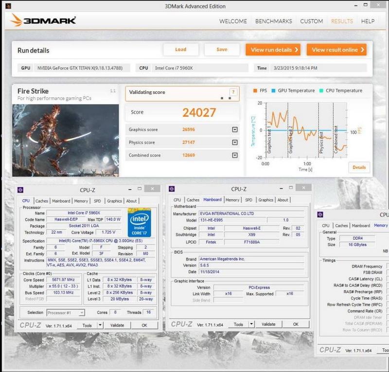 GeForce TITAN X разогнан до 2 ГГц