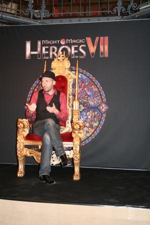 Эрван, как самый главный человек для серии, занимает положенный ему трон