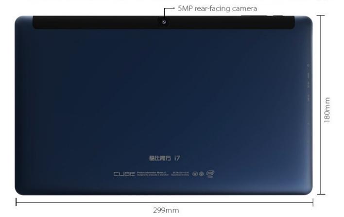 Планшет Cube i7-CM использует процессор Core M и платформу Ubuntu
