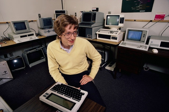 Билл Гейтс (фото Doug Wilson/Corbis)