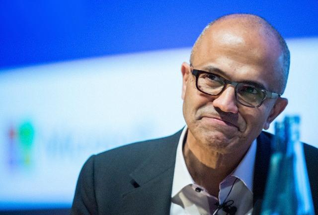 Нынешний исполнительный директор Microsoft Сатья Наделла (фото Bernd von Jutrczenka/dpa/Corbis)