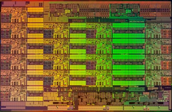 Ядро 18-ядерного процессора семейства Xeon E5 v3