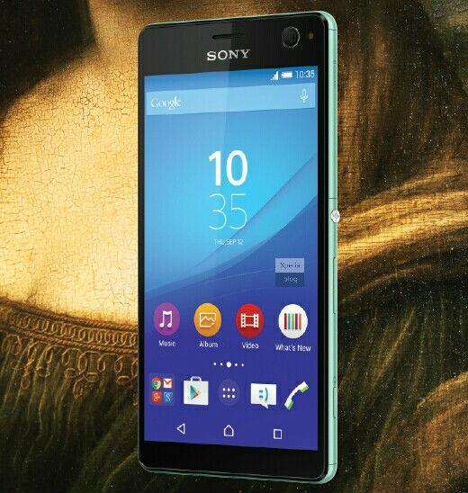 «Живое» фото Sony Xperia C4 от @upleaks