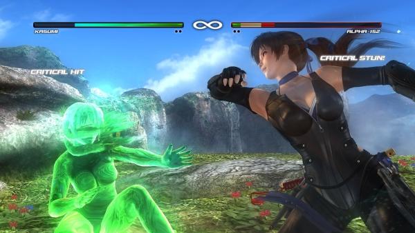 Касуми и ее злой светящийся клон — кто кого?