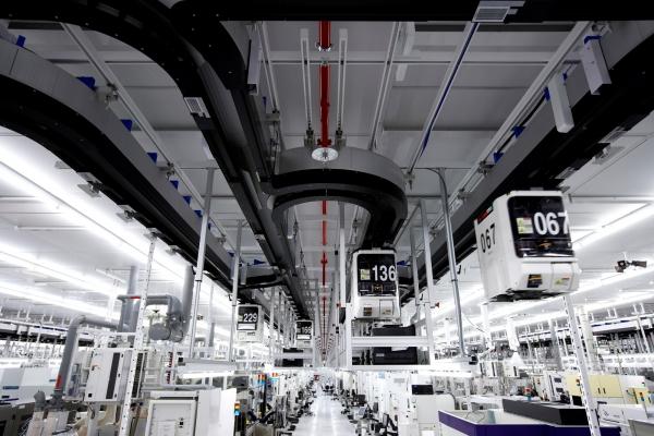 Внутри производственного комплекса GlobalFoundries