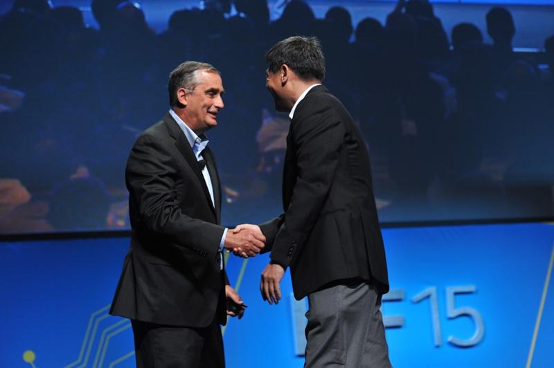 Брайан Кржанич (слева) и Мин Ли