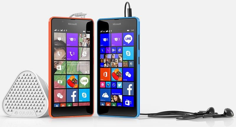 Смартфон microsoft lumia 540 dual sim получил 5