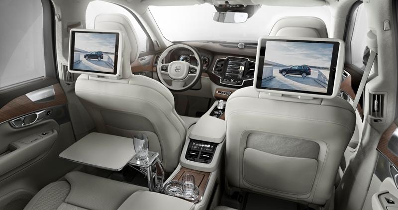 Volvo XC90 Excellence: самый роскошный автомобиль в истории компании