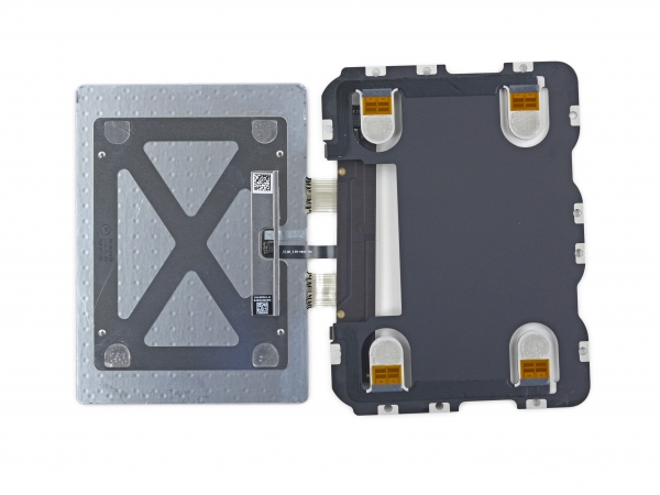 Touch panel with pressure sensors (photo iFixit) &quot;width =&quot; 600 &quot;/&gt; </a></p> <div class=