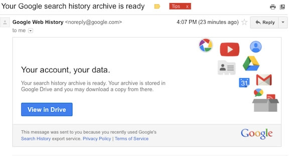 история поиска Google - фото 5