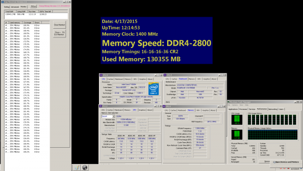 G.Skill Ripjaws 4 128 Гбайт: результаты стресс теста