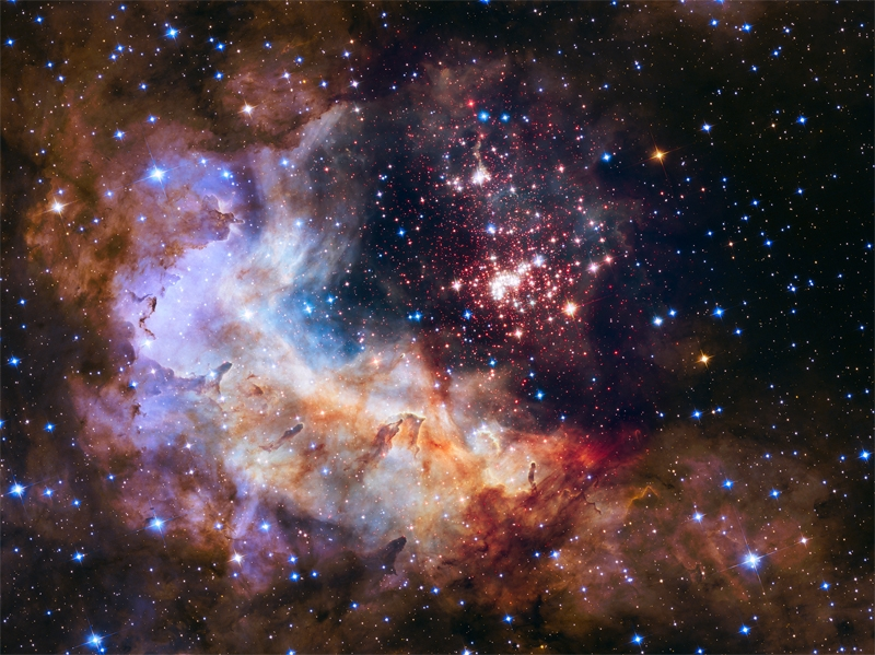 Звёздный кластер Westerlund 2