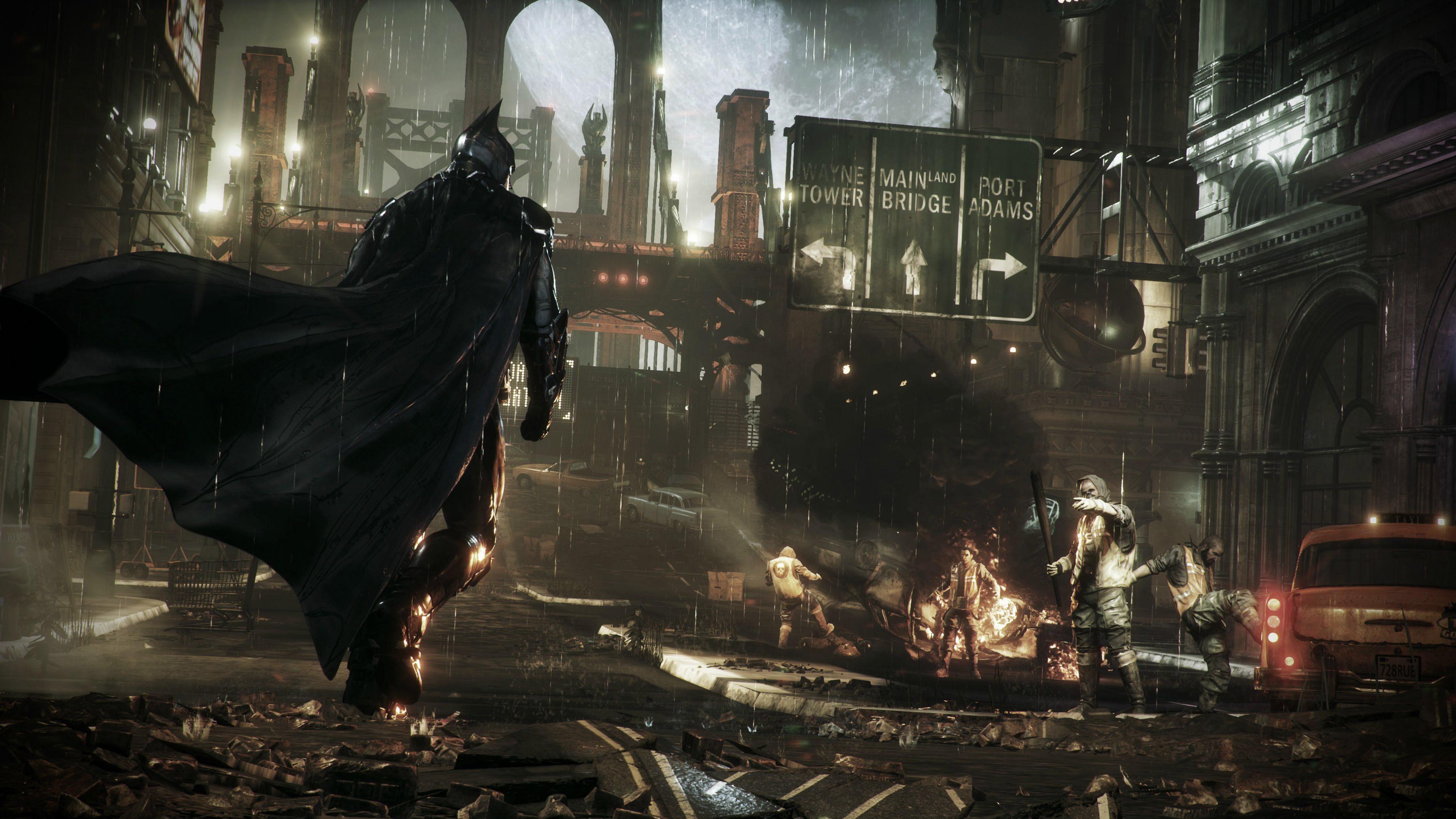 Batman: Arkham Knight— Вновом трейлере представят ваших союзников