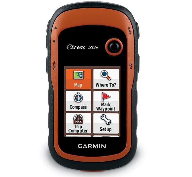 Garmin eTrex 20x/30x: всепогодные навигаторы GPS/ГЛОНАСС