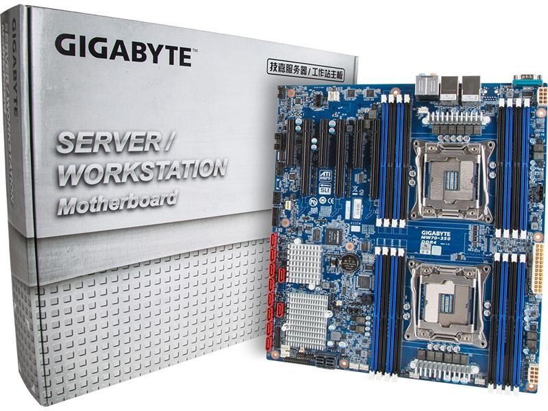 Gigabyte MW70-3S0: системная плата для двухпроцессорных рабочих станций