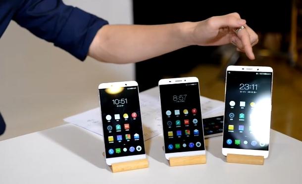 Модельный ряд смартфонов LeTV
